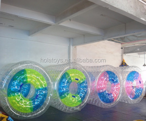 Hola inflatable roller water toys adults