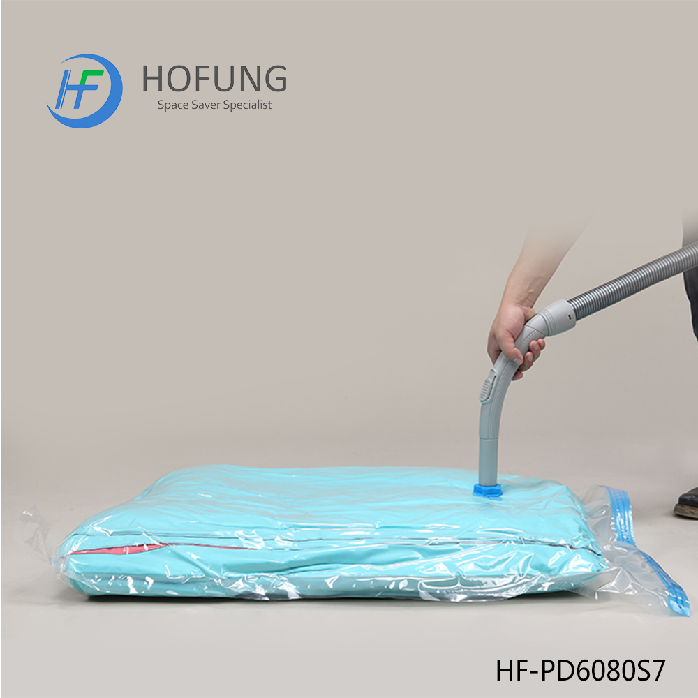 Compressed vacuum bags for bedding as seen on tv