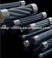 Ungalvanized and Galvanized Steel Wire Ropes for Control