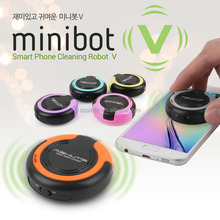 Korea design minibot v Universal Tablet Handy-<span class=keywords><strong>bildschirm-reiniger</strong></span> Roboter für iPhone iPad Laptop E-book DSLR Kamera Objektiv