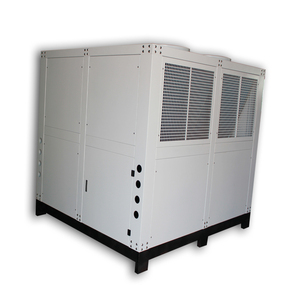 Japan screw compressor 40 ton water cooled air conditioning chiller price indonesia for induction heating