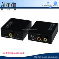 digital to analog converter optical coaxial input audio R/L output