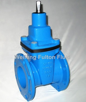 Ductile Cast Iron Resilient Seated Wedge Gate Valve With Ce Wras Gsk And  Sgs Certificate Dvgw Potable Water - Buy Gate Valve,Resilientseated Gate