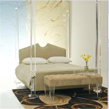 Beautiful Children Bedroom Furniture Set,clear Acrylic Bed Frame,acrylic Bedroom  Furniture