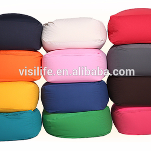 2018 Comfortable beanbag wholesale expand pouf coffee shop chair Spandex Bean Bag Chair for Teens Mix Color