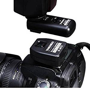 Tinksky YONGNUO RF-602 2.4GHz Wireless Remote Control Flash Trigger for Nikon (Black)