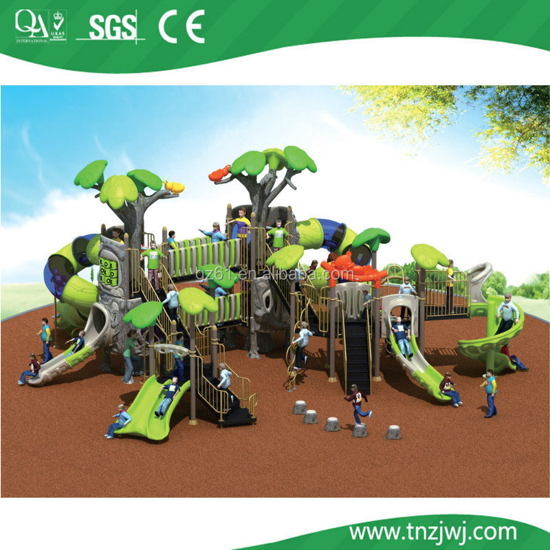 Kids plastic outside playground gym fitness outdoor toys equipment