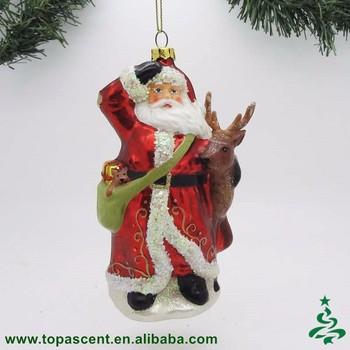 2016 Traditional Hand Blown Glass Christmas Santa Claus Ornaments Buy Glass Santa Claus Ornament Direct Factory Wholesaler Product On Alibaba Com