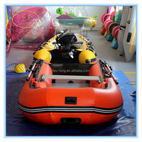 Heavy Duty Military Large military inflatable boat with outboard motor china