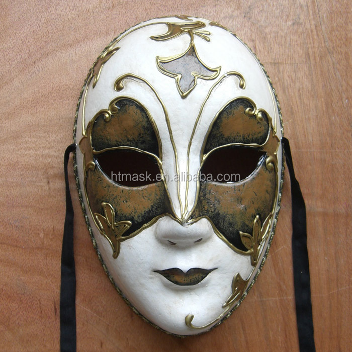 New Arrival Full Face Skull Head Laser Cut Metal Party Full Mask Eye Mask Manufacturer