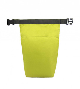 Newly Design Green Lime Click 'n Go Roll-Top Lunch Sack Roll Up Clip Cooler Bag