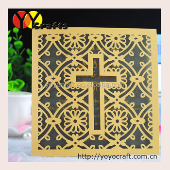 Exclusive invitation cards laser cut cross design invitation card exclusive invitation cards laser cut cross design invitation card birthday greeting cards bookmarktalkfo Image collections