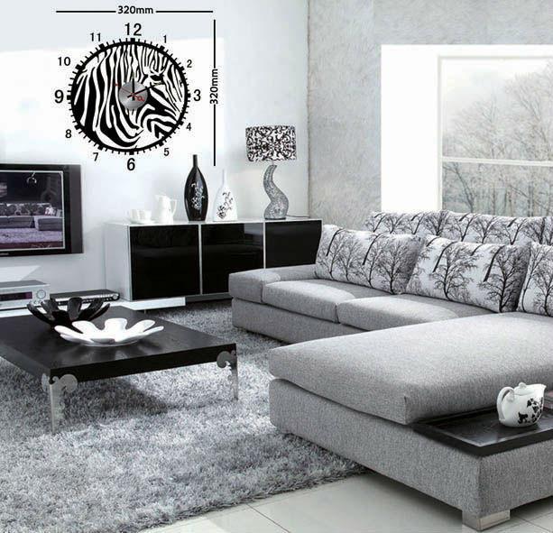 estilo animal redondo diseo moderno cebra arte pared pegatinas para salnen otros decoracin del hogar de decoracin de hogar en
