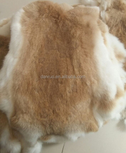 wholesale rabbit fur skin, natural color