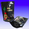 Custom print resealable standing coffee bag with valve