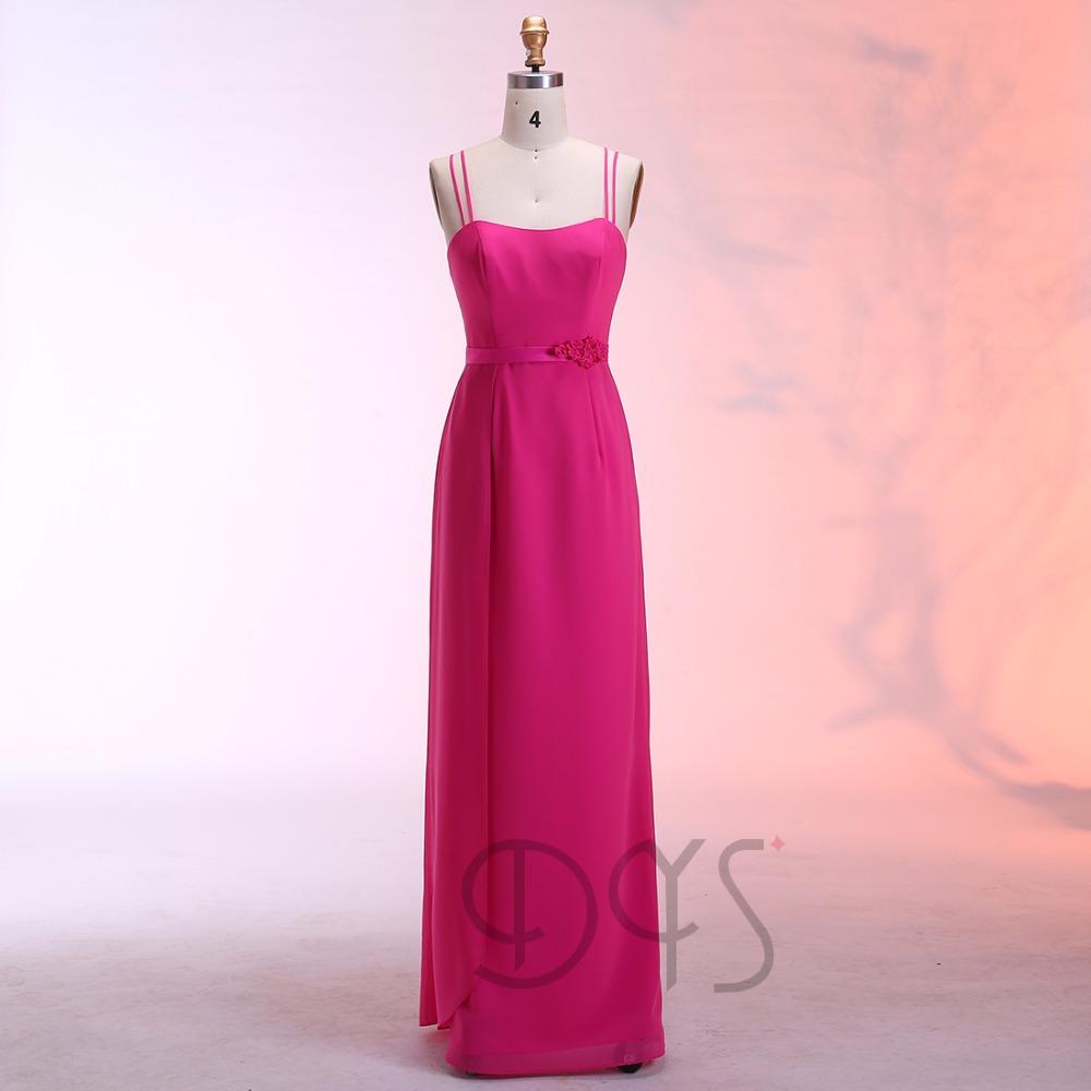 Catálogo de fabricantes de Vestido Fucsia De La Dama De Honor De La ...