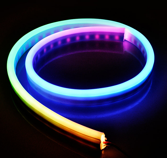 12 V/24 V SMD5050 60 LED/M RGB LED Neon Strip