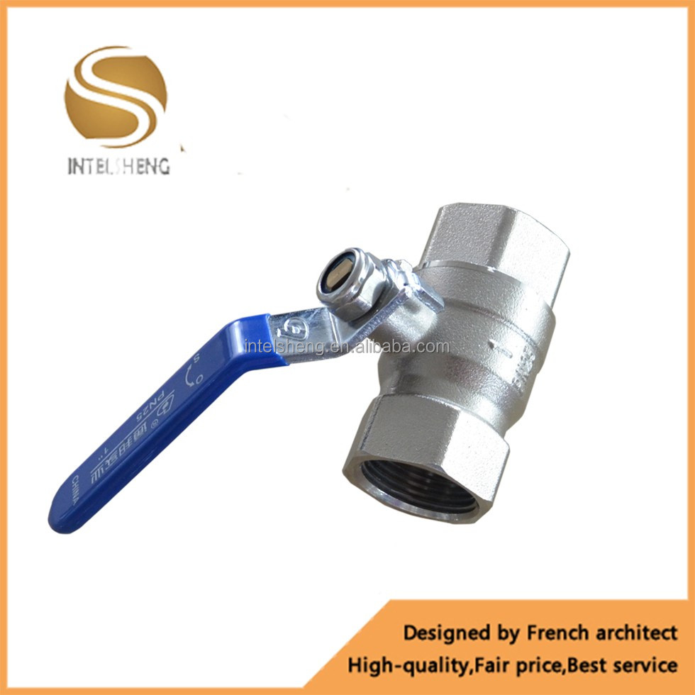 gas,water,oil Media forged NPT full port brass ball valve with private label on handle