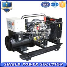 Portable generator low noise natural gas genset