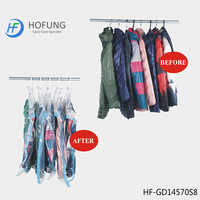 Ziploc Vacuum Clothes Storage Bag Hanging Style For Clothes