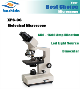 1600X XPS-36 charageable double-purpose traveling Cordless biological microscope