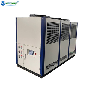 +7 Degree C to +35 Degree C Cold Water Supply Copeland Compressor Air Cooled Chiller 25 Ton For Injection Moulding