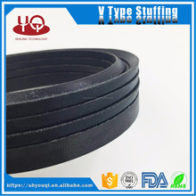 NBR/FKM Fabric rubber V التعبئة packing