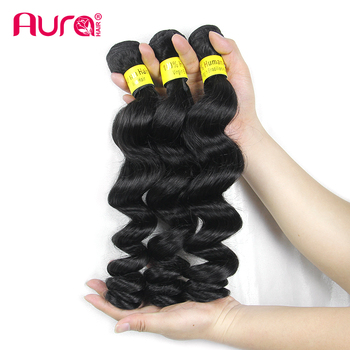 Brazilian Virgin Human Bundles 100% Human Hair Loose Wave Style From 8 Inch to 30 Inch Large Stock Factory Wholesale price