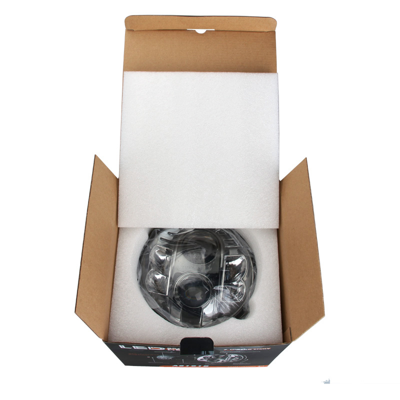"High Power 48W 6000K High Low Beam Standard 7"" Led Headlight For Jeep, Harley Davidson"