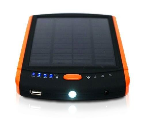Hot 23000mAh Solar Power Bank for Laptop 12V 16V 19V