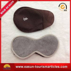 Comfortable cheap sleep mask manufacturers eye pach for airline satin eyeshade