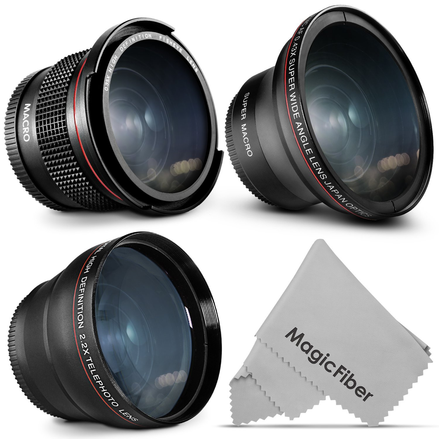 Buy 58mm Altura Photo Professional Lens Kit For Canon Eos Rebel T5i
