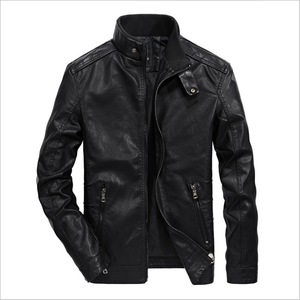 In stocks fashion pakistan casual man leather jacket