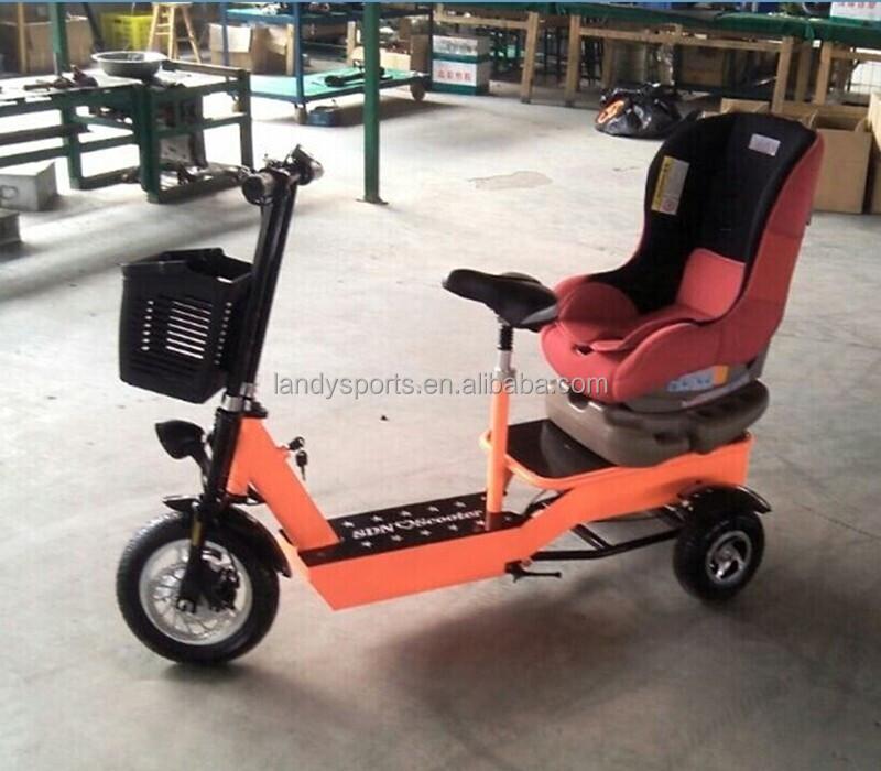 Nieuwe elektrische lading drie wielen fiets moeder en baby elektrische scooter voor de verkoop - Baby voet verkoop ...
