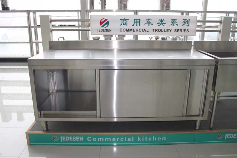 Commercial Stainless Steel Kitchen Cupboard Inox Work Cabinet
