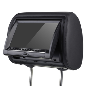 Universal Car Make Car pillow monitor taxi headrest monitor TV Av Input MP5 dvd player usb sd card input 7inch lcd monitor