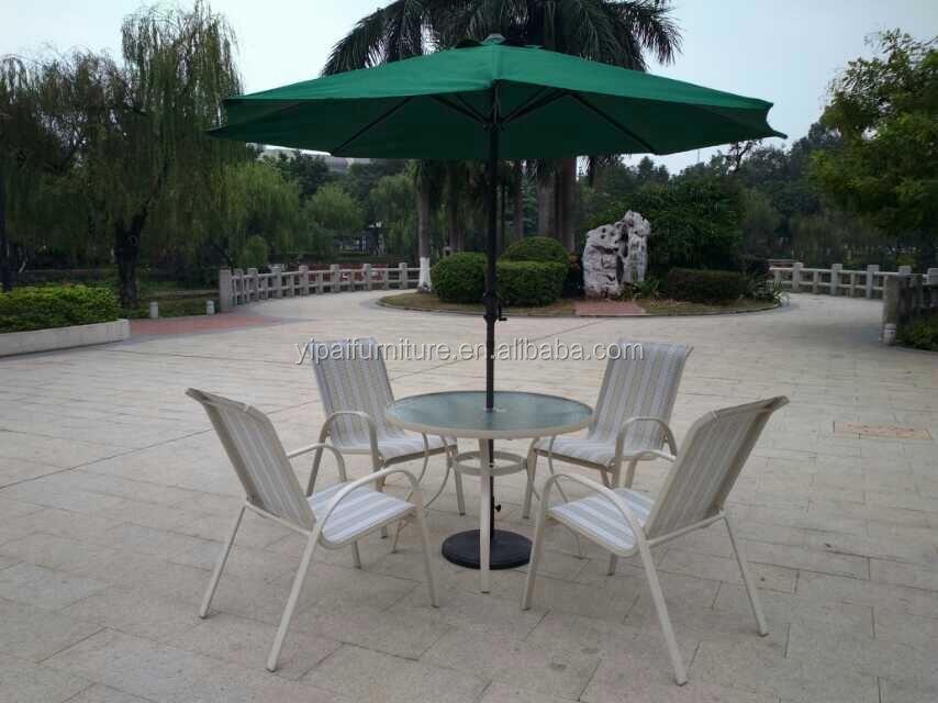 Silla de aluminio de caf muebles al aire libre silla de for Aluminio productos de fundicion muebles de jardin
