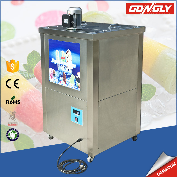 Food Grade Commercial Automatic stick ice cream / popsicle maker / making machine