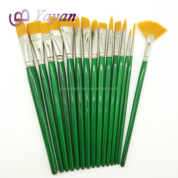 15 Pcsensemble Bi Couleur Synthétique Cheveux En Nylon Vert Court