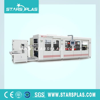 PET Take Away Fast Food Box Thermoforming Machine
