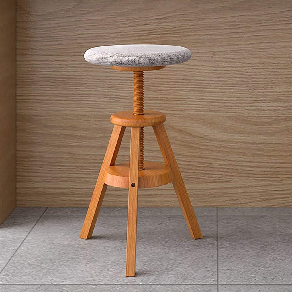 Lift Bar Chair Wrought Iron Bar Stool European Style Chair High Stools Home Bar Stool Retro Coffee Front Desk Chair Furniture