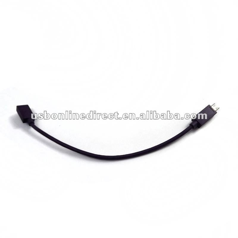 micro usb female to samsung galaxy S3 Cable