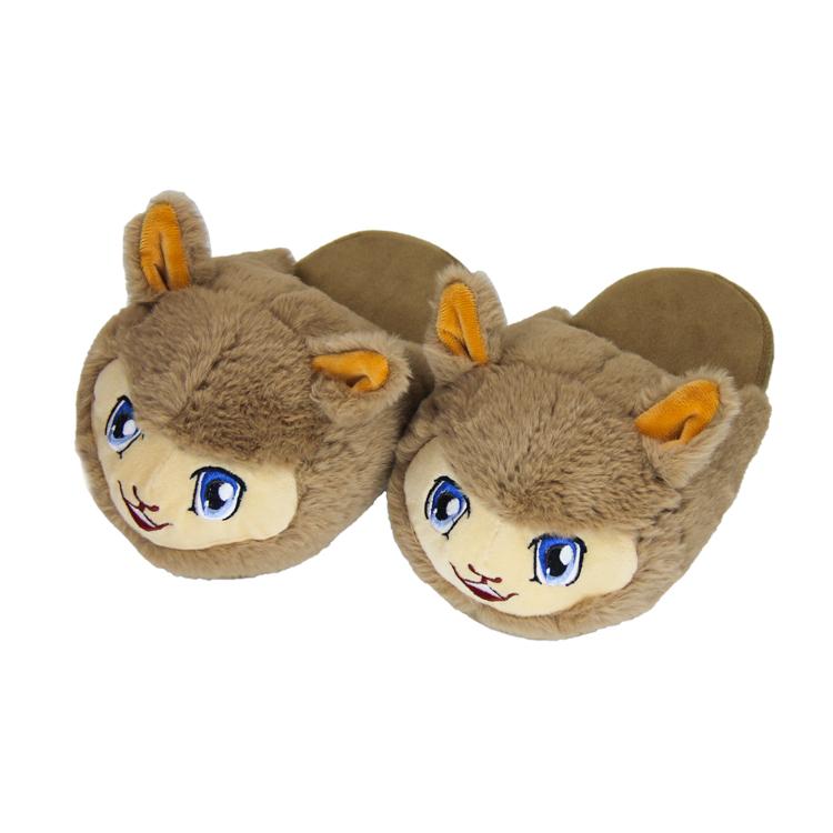 pick up reliable quality united kingdom Cheap Custom Logo Fur Cozy Plush Indoor Room Gents Shoe Alpaca ...