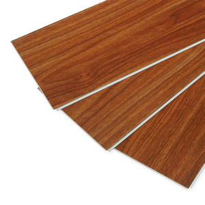 Floor tile 100% waterproof protect the environment and wood vinyl tile pvc floor