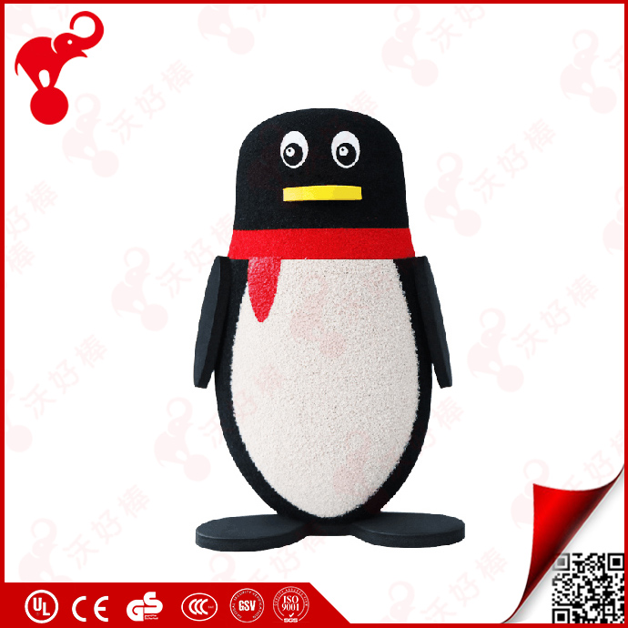 hot sale 2017 rubber nbr foam 6 penguin funny bowling ball toys funny penguin game