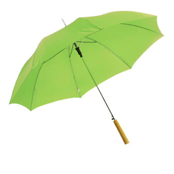 Pretty Fresh Green Color Stick Umbrella