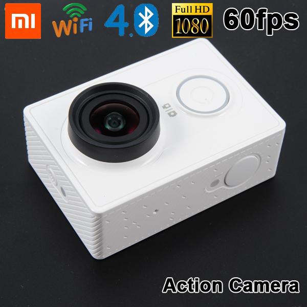 Xiaomi yi действие камера Xiaoyi ми спорт камера 16MP 1080 p wi-fi Bluetooth 4,0 водонепроницаемый Smart mini портативная видеокамера