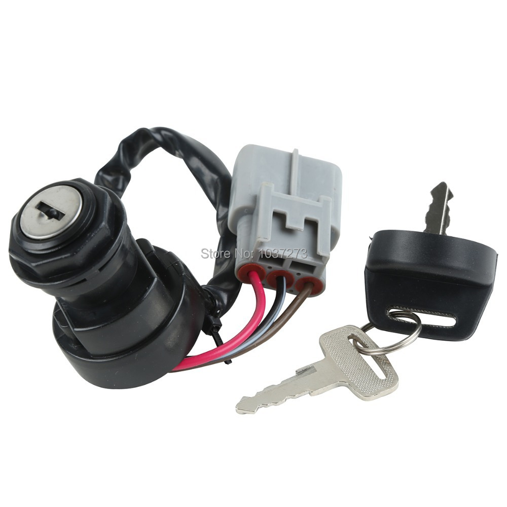 new ignition switch key for yamaha grizzly 660 yfm660 2002. Black Bedroom Furniture Sets. Home Design Ideas
