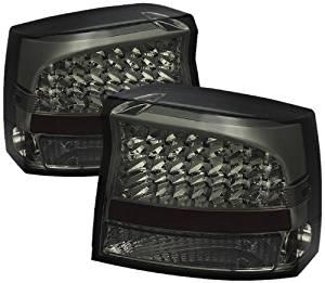 Spyder Auto (ALT-JH-DCH09-LED-SM) Dodge Charger Smoke LED Tail Light - Pair