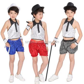 63faf7aa96fcb Fábrica de china al por mayor no-Manga hip hop traje para niño y niñas
